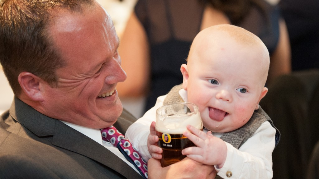 Never too young for beer